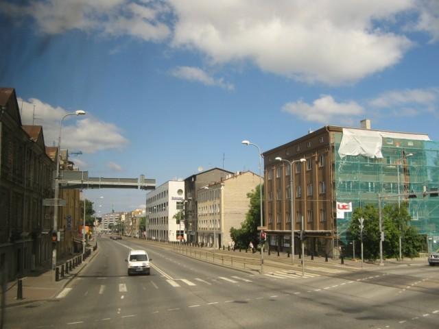 И вот он - Таллинн. Не центр.