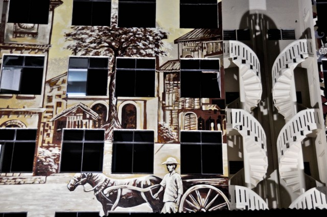 Необычны и лестницы и роспись по бетону