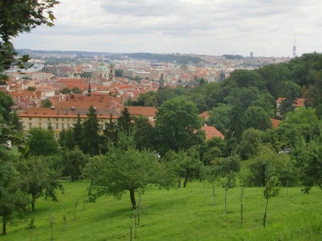 И просто вид с холма на Прагу1