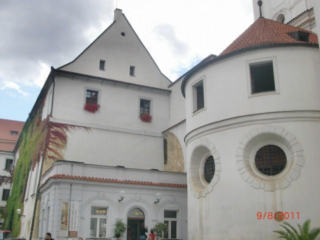 Страгов монастырь, внутри 1