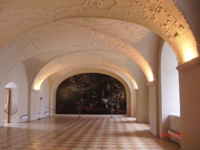 Страгов монастырь, внутри 2