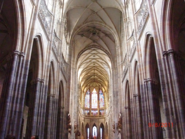 собор Св. Вита внутри