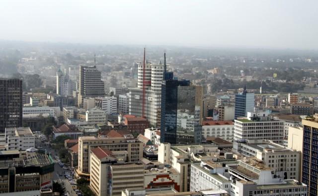 Панорама кенийской столицы