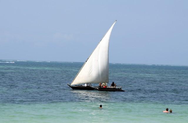 Индийский океан в Момбасе