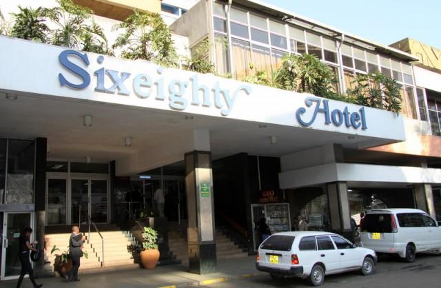 Наш первый отель в Кении