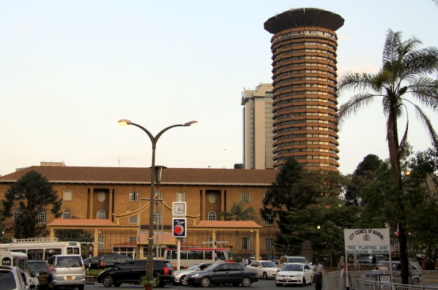 Первые фото Найроби