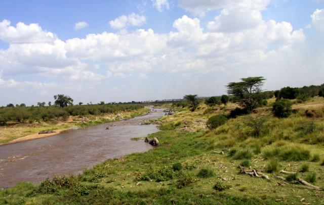 Пограничная река Мара