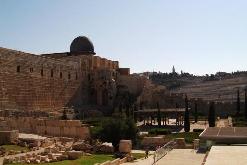 мечеть Аль- Акса и археологический парк