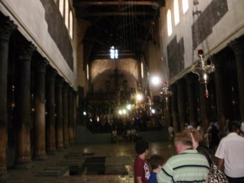 Базилика Рождества Христова внутри