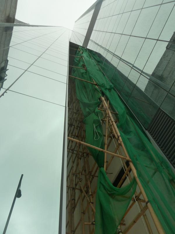 так строятся небоскребы Гонконга!)))