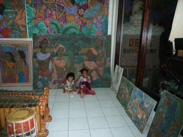 картины и дети