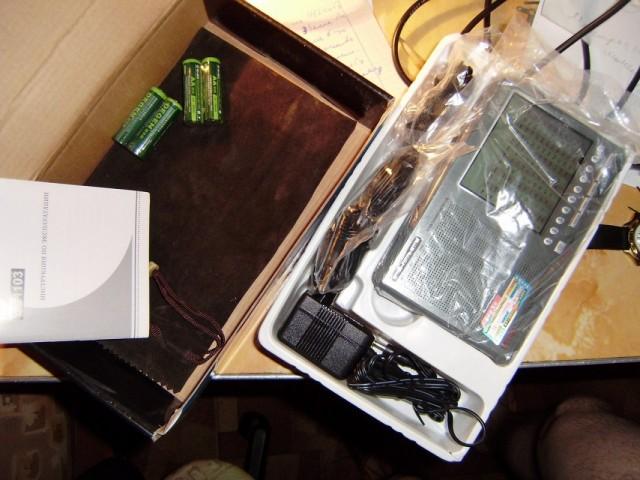 Радиоприемник Degen DE1103. Комплект.