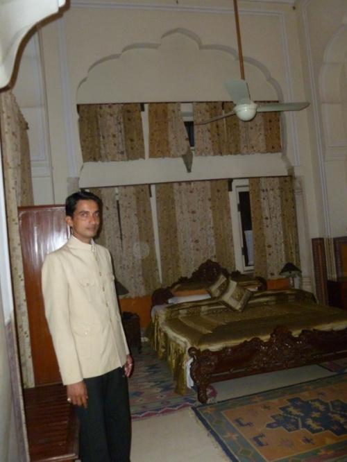отельчик в Джайпуре