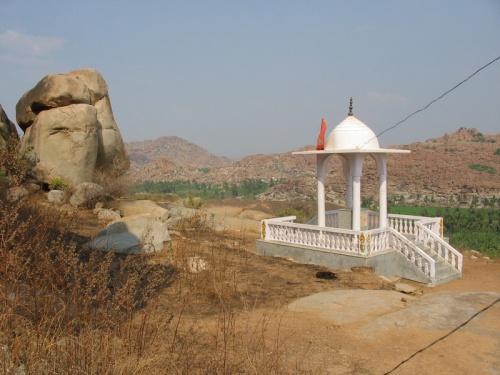 вид с храма Ханумана