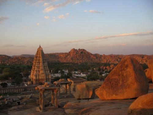 вид из храма Шивы