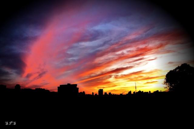 Закаты Киева