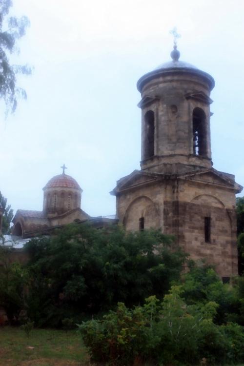 Древнейший Храм в Украине- церковь Иоанна Предтечи в Керчи ( 7 в.н.э.)