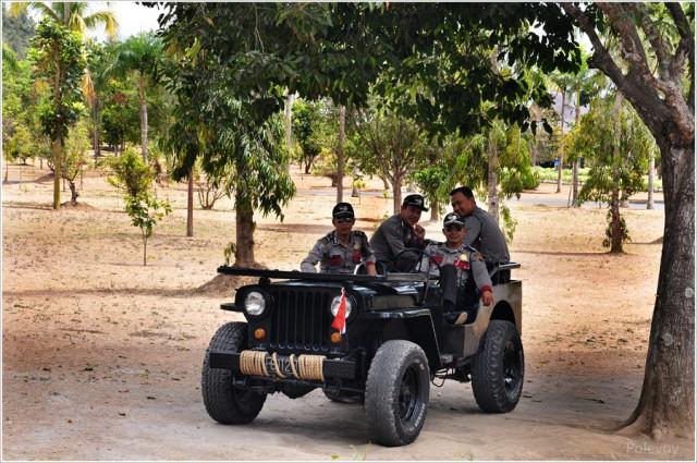 стражи Боробудура
