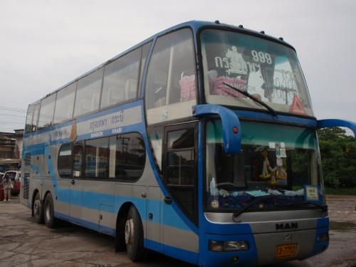 наш автобус Бангкок_Краби, не 1-го класса, а тот что подешевле.