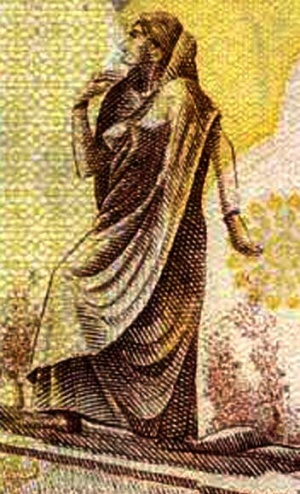 Сароджини, соратница М. Ганди