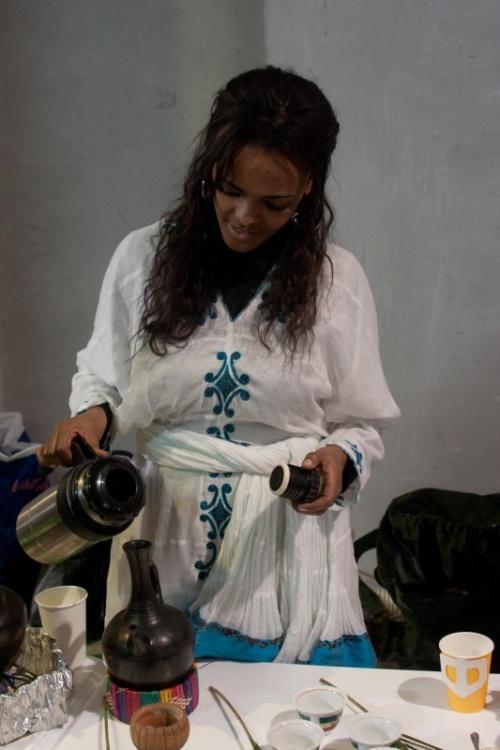 Прекрасная эфиопка...