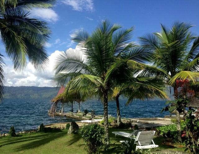 Индонезия, остров Самосир, озеро Тоба.