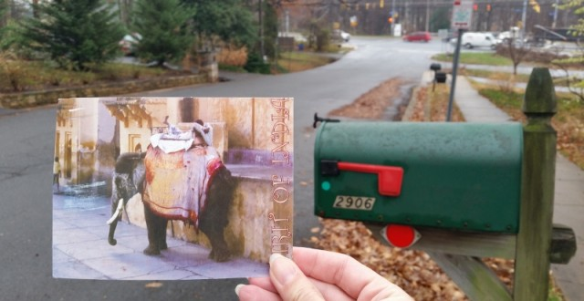 открытка с Межгалактического Дирижабля