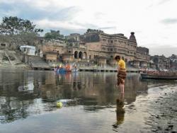 Ямуна с видом на Кеши Гхат