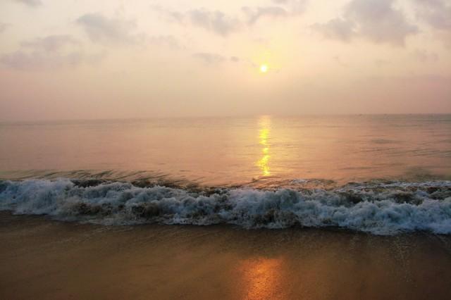 пляж Мамалипурама-1