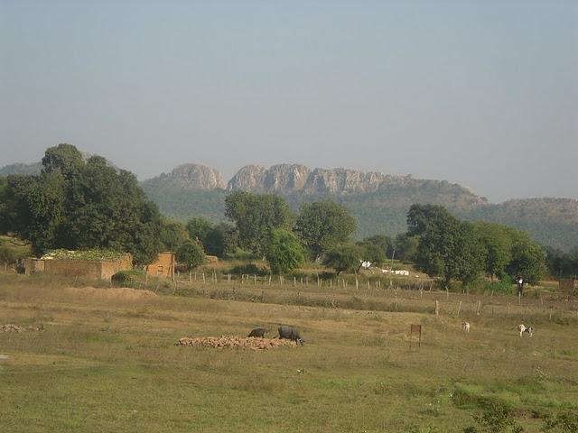 Виды из храма Южной группы