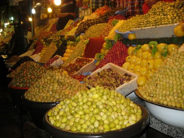 Рынок в Мекнесе