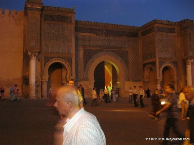 Ворота в медину в Мекнесе