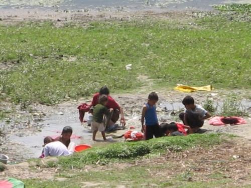 стирка в Покхаре