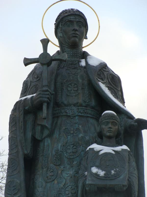 Ольга правила Киевской Русью после смерти своего мужа князя Игоря.