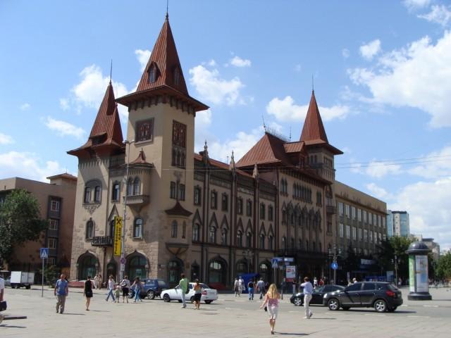 Здание Саратовской консерватории.