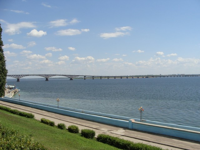 Набережная р.Волга.