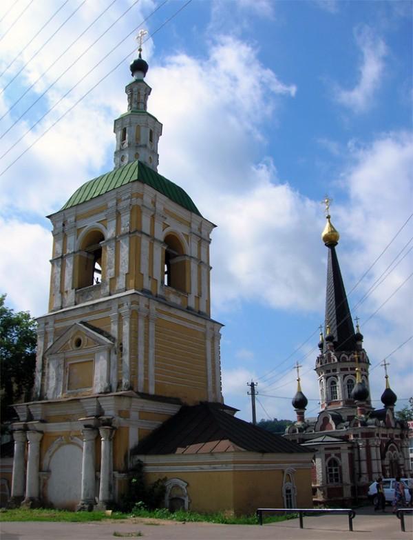 Часовня и колокольня церкви Николая Чудотворца