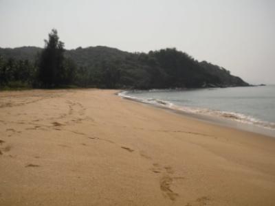 Полем, самый Южный пляж Гоа