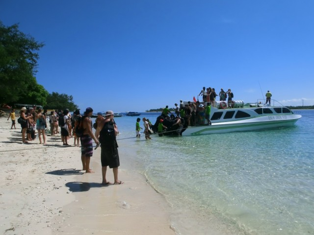 Спид боат Бали_Гили