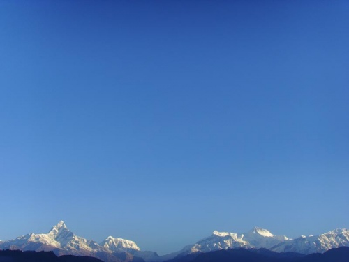 Рассвет в Покхаре