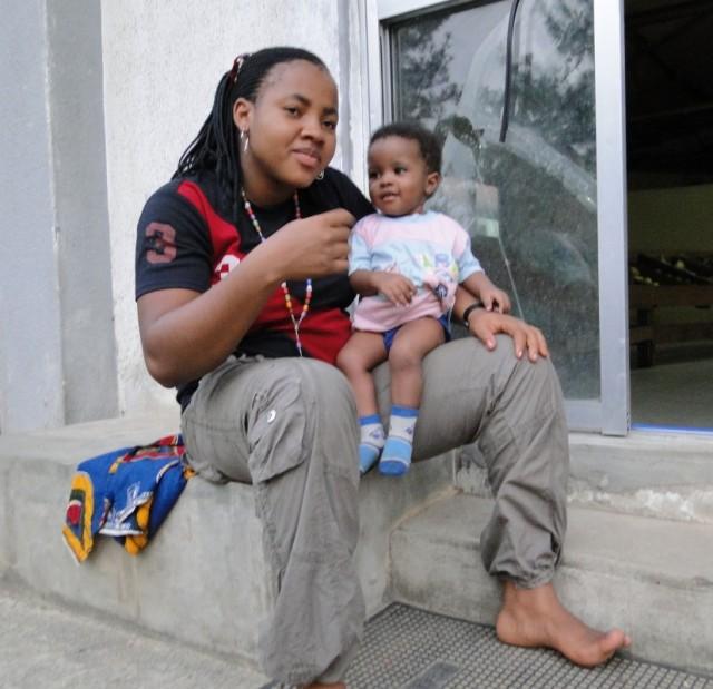 мамка с сыном