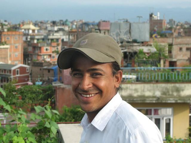 Наш друг Кришна. Обаятельная улыбка у парня, а?