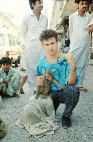 мой первый выезд в Карачи