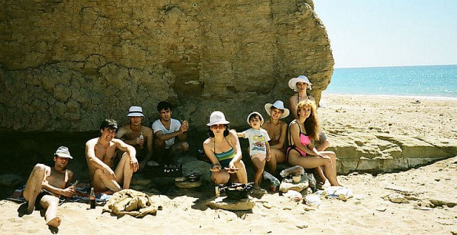 на Консульском пляже
