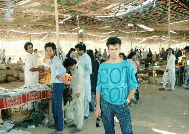 Хафта Базар, фруктовые ряды