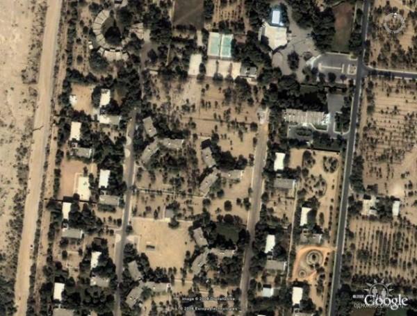 центральная часть советской зоны городка