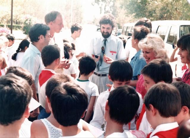 американско-пакистанские школьники в гости к нам