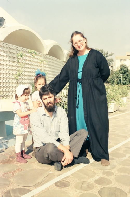 семья Валеры с моей дочей у мечети