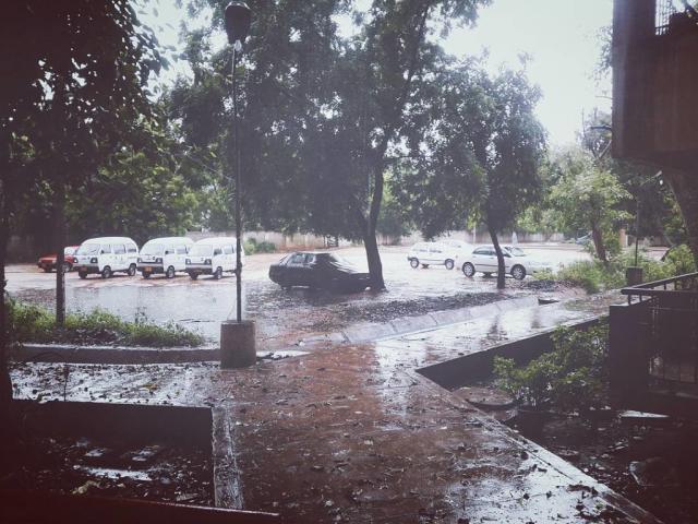 У Т-9 после дождя