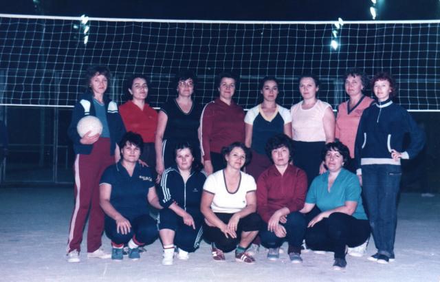 женщины-волейболистки